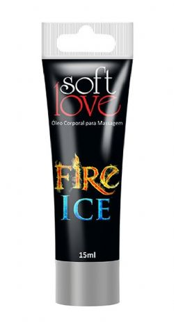 Bisnaga Fire & Ice Choque Térmico Soft Love - 15ml