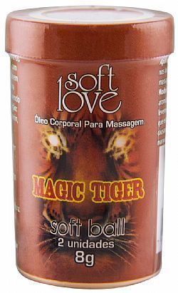 Bolinha Soft Ball - Magic Tiger