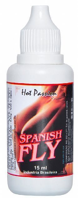 Spanish Fly Hot Passion(Afrodisíaco) - 15 ml