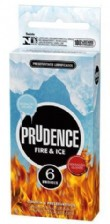Preservativo Prudence -  Fire & Ice - 6 Unid